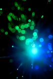 Fiber optic abstract Royalty Free Stock Image