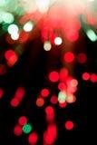 Fiber optic abstract Royalty Free Stock Photo