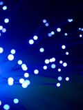 Fiber optic abstract Royalty Free Stock Images