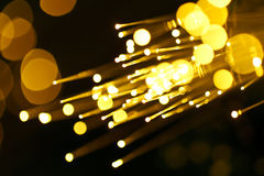 Fiber optic abstract background Stock Photography