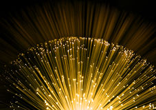 Fiber optic background Royalty Free Stock Photos