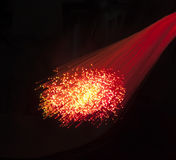 Fiber optic background Royalty Free Stock Photo