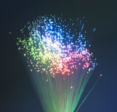 Fiber optic background Stock Photography