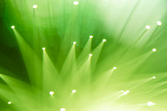 Fiber optic background Stock Images