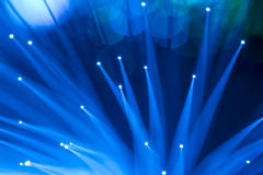 Fiber optic background Royalty Free Stock Photography