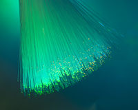 Fiber optic background Royalty Free Stock Image