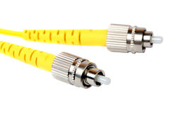 Fiber optic cable Royalty Free Stock Photo