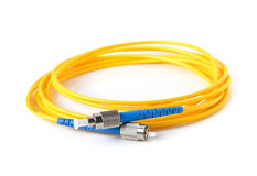 Fiber optic cable Stock Photos