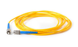 Fiber optic cable Stock Photography