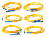 Fiber optic cable Royalty Free Stock Image