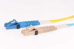 Fiber optic cables Royalty Free Stock Photo