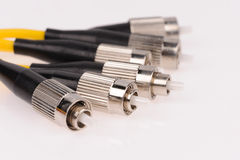 Fiber optic cables Stock Photos