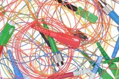 Fiber optic cables Stock Photos