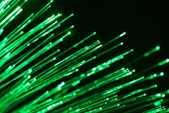 Fiber optic communication Stock Photography