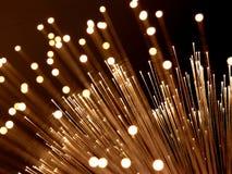 Fiber optic light background. Detail of fibre optic lamp royalty free stock photography