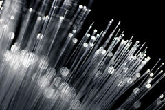 Fiber optic with white color Stock Photo