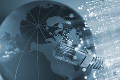 Fiber optical Stock Image