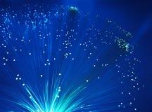 Fiber optical background Stock Image