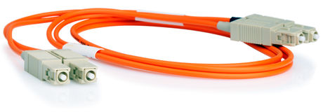 Fiber optical cable Royalty Free Stock Image