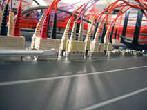 Fiber Optical Network Stock Photo