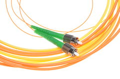 Fiber optical patch cord Stock Image