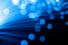 Fiber Optics Royalty Free Stock Photos