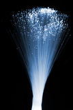 Fiber optics. Background with lots of light spots Royalty Free Stock Image