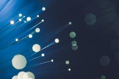 Fiber Optics Abstract Royalty Free Stock Image