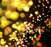 Fiber optics background Royalty Free Stock Images