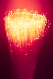 Fiber optics bunch Stock Image