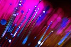 Fiber optics Royalty Free Stock Photography
