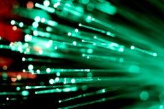 Fiber optics Stock Photo