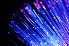 Fiber optics Stock Image