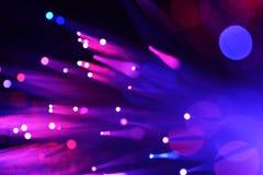 Fiber optics Royalty Free Stock Photos