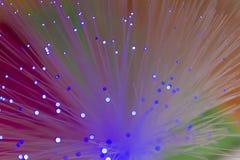 Fiber optics wallpaper Stock Photos