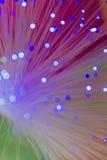 Fiber optics wallpaper Royalty Free Stock Photos