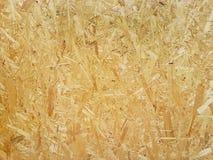 fiberboard Texture en bois brun clair comprimée de contreplaqué Fermez-vous vers le haut de la surface du plat de bois-rasage pre images libres de droits
