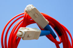 Fibercable royalty free stock images