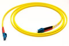 Fiberchannel kabel fotografia royalty free