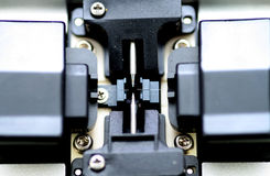 Fiberglas dat Apparaat (Detail) verbindt Stock Foto's
