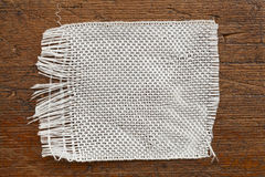Fiberglass cloth patch Stock Images