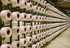 fibermaskin Royaltyfri Fotografi