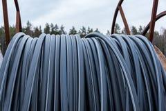 Fiberoptic hose Stock Photo