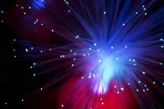 Fiberoptics Royalty Free Stock Photography