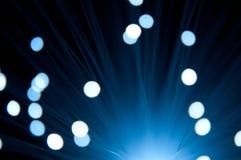 Fiberoptische Leuchten Lizenzfreie Stockfotografie