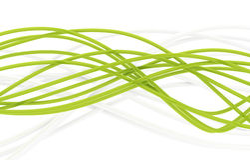 Fiberoptische Seilzüge Stockfoto