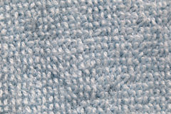 Fibers of fabric in macro style. Royalty Free Stock Photos