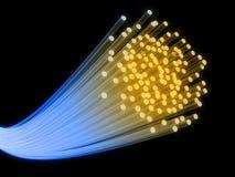 fibertråd vektor illustrationer