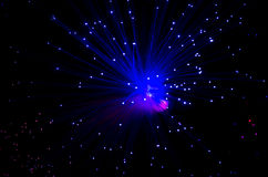 Fibra óptica Fotografia de Stock Royalty Free