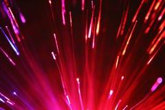 Fibra óptica Imagens de Stock Royalty Free